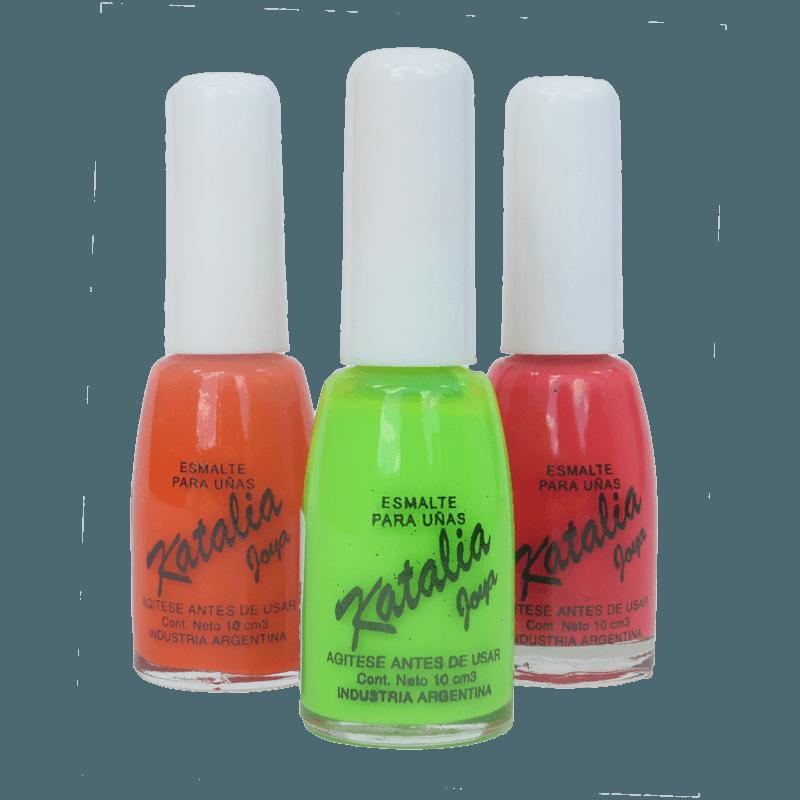 Esmalte para uñas Cremoso Flúo Katalia - Zeva Cosmetics